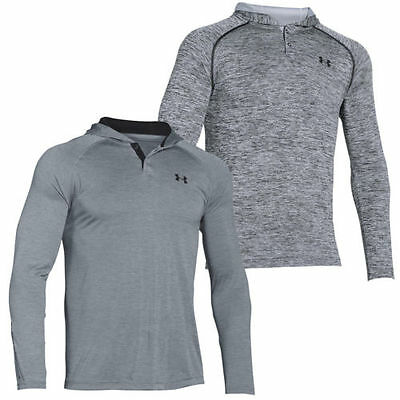Under Armour Tech Popover Mens Sports Fitness Hoodie Hoody Jacket