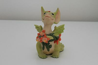 Whimsical World Of Pocket Dragons-Flowers For You