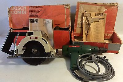 Vintage Bosch Saw and Drill Combi Set