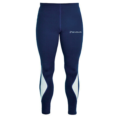 Running Long Pant Givova Pantaloni Fitness Palestra Sport Calcio Outlet Calcetto