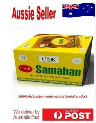 Natural Herbal Tea Ayurvedic 100 Link SAMAHAN Drink for Cough & Cold remedy
