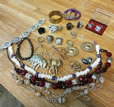 antique/vitnage jewellery lot