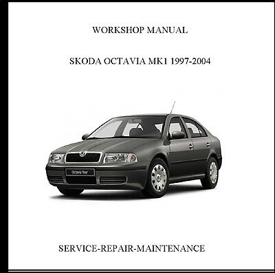 Skoda Octavia 1997-2004 Workshop Service Repair Manual (1.6 L/75 Kw Engine)