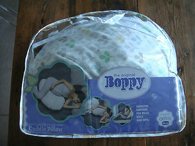 Chicco Boppy Cuddle Pillow (Silverleaf) Pregnancy Support Pillow