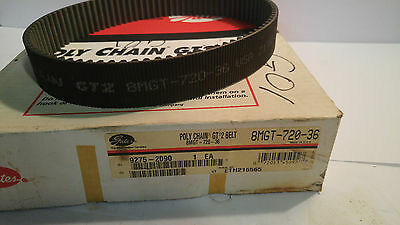 Gates Poly Chain Gt 2 Belt 8Mgt-720-36 8Mgt72036 *new*