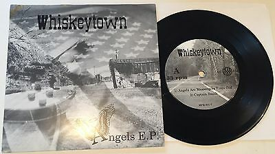 "WHISKEYTOWN Angels EP ~ Rare US 1995 debut 7"" Alt Country EP Ryan Adams"