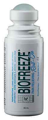 Biofreeze 1 x 3oz Roll On Pain Relief Gel Cold Arthritis Therapy Pack of 20