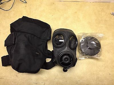 Survival AVON CBRN-FM-12 Respirator Gas Mask W/ Bag And Filter.  Size 2