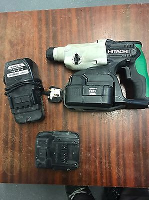 Hitachi 24v Sds Drill With Battery And Charger