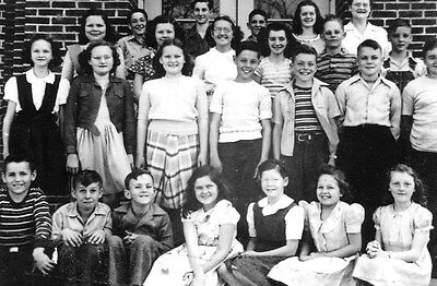 Elvis Presley in a photo from his 6th Grade Class in 1948