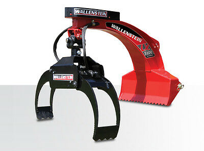 LX5100 Wallenstein Compact Tractor Log Grapple