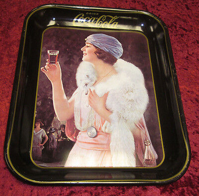 Coca Cola Advertising Tray Re-Issue 1975