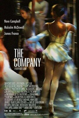 The Company (2003) Reproduction Movie Poster - Neve Campbell, James Franco