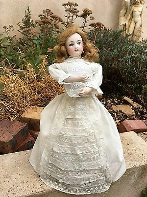 rare steiner waltzing , french bisque doll in perfect condition