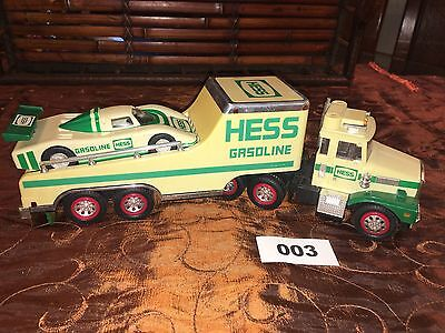 HESS 1988 Toy Collectible Truck with Race Car NO BOX 003