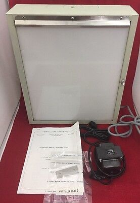 NEW BRENNER X-Ray Film Illuminator FI-0212 w/Transformer & Instructions