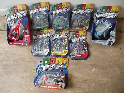 THUNDERBIRDS ARE GO ,  FIGURES   &   VEHICLES   NEW SEALED  select from menu