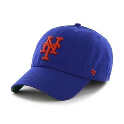 '47 Brand New York Mets Franchise Fitted MLB Cap Blau