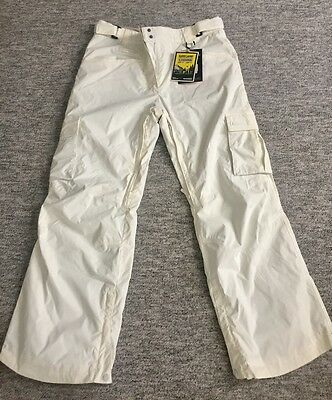 Westbeach ladies ski/snowboard trousers, off white, size L