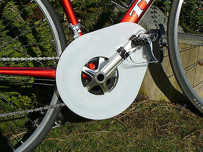 BICYCLE CHAIN GUARD- one design works on all adult bikes!