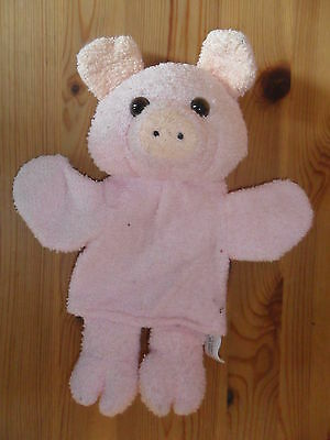 Pig Hand Puppet - Soft Toy - Cuddly Toy