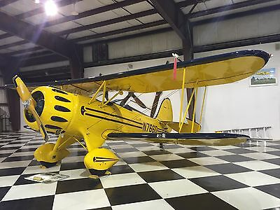 IMMACULATE 2003 100th CLASSIC WACO BUILT TO COMMEMERATE 100 YRS OF FLIGHT