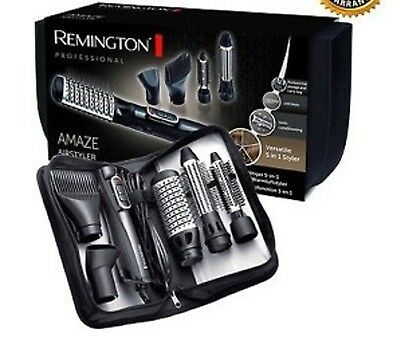 Remington Amaze Smooth and Volume Hot Air Hair Brush Airstyler 5 in 1 AS1220 New