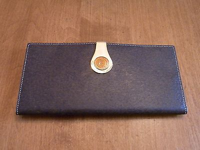 gucci wallet vintage italy bill fold cheque holder