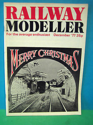 Railway Modeller December 1977 # Excellent Retro Christmas Issue   See Photos