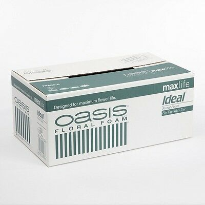 Oasis® Ideal Maxlife Wet Floral Foam  In Quantities Of 2,5,10 Or 20 Bricks