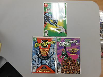 The Green Lantern Corps comic lot of 3! #'s 203-205! VF/NM9.0 or better DC! LOOK