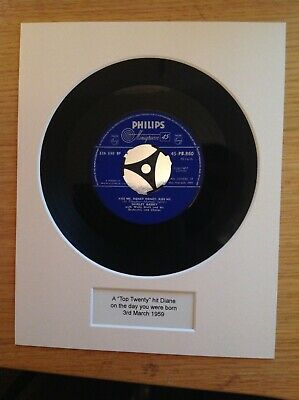 Pre 1960 Hit Record On The Day You Were born - Unique 60th Birthday Gift