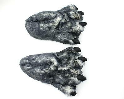 Wolf Paw Slippers - Animal Feet Slippers