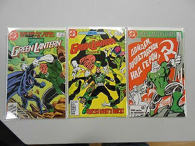 The Green Lantern Corps comic lot of 3! #'s 206-208! VF/NM9.0- or better! DC!!!1