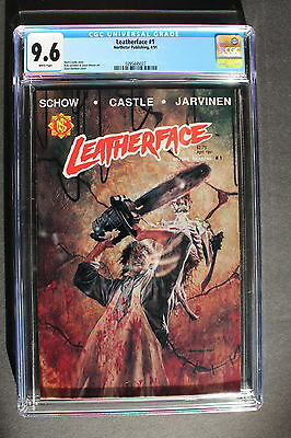 LEATHERFACE #1 Texas Chainsaw Massacre FIRST Comic 1991 Northstar CGC NM+ 9.6