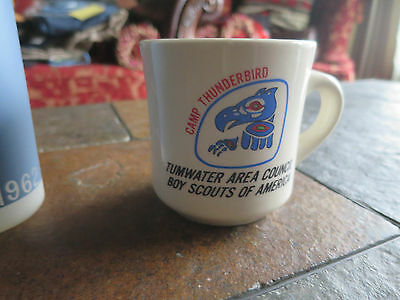 Boy Scout Tumwater Area Council Camp Thunderbird Coffee mug cup