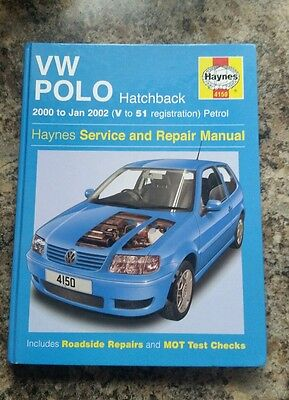 VW Polo Haynes Manual 00-02 petrol no.4150.