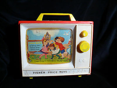 Vintage Fisher Price Two Tune TV - working