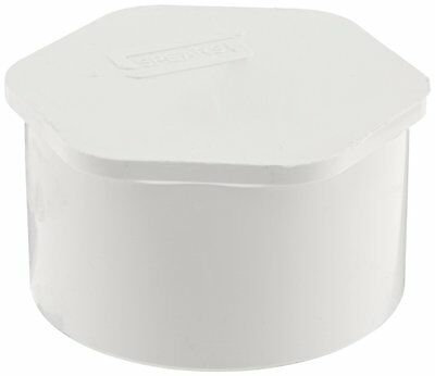 """Spears 449 Series PVC Pipe Fitting, Plug, Schedule 40, 3"""" Spigot   (A1)"""