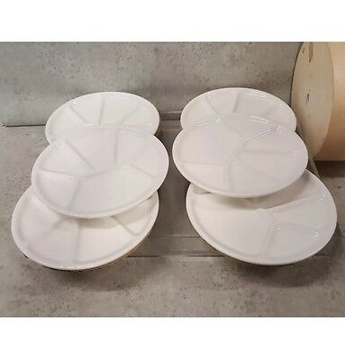 Williams Sonoma Varages Fondue Plates Made in France Cute Box Free Ship