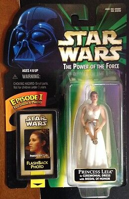Star Wars The Power Of The Force Princess Leia In Ceremonial Dress NEW!!!