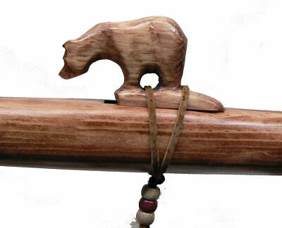 Authentic Native American Bear Flute hand made by Jonah Thompson key of HIGH D