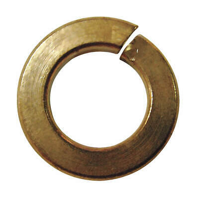 GRAINGER APPR Silicon Bronze Split Lock Washer,#4,Si Bronze,PK100, 1NU87, Bronze