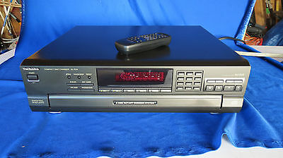 Technics SL-PD8 5 CD Compact Disc Changer and Remote Control, TESTED! i110