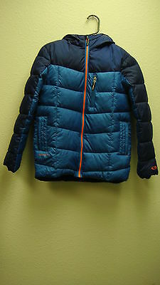 65# Champion Boys Puffer Jacket Size M Blue Color