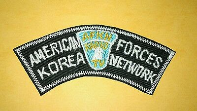 American Forces Korea Network Embroidered Patch