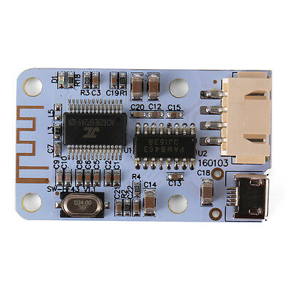 Wireless Bluetooth 2x3 Watt Audio Receiver 2-CH Digital Amplifier Board TE657