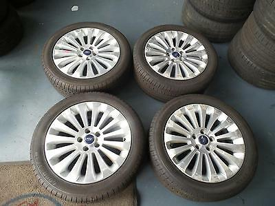 Ford Mondeo Xr5 Set Of 4 17 Inch Mags Wheels Rims Tyres Tires