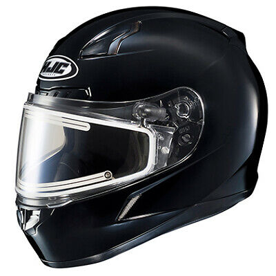 HJC CL-17 Snowmobile Helmet with Electric Shield Solid Colors