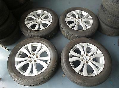 Mazda Cx7 Set Of 4 18 Inch Mags Wheels Rims Tyres Tires